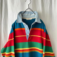 "90's "" J.CREW "" Cotton Rugger Shirts"
