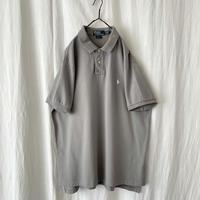 ▪️ Polo Ralph Lauren Light Gray Cotton Polo Shirts  ▪️