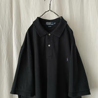 """ Polo Ralph Lauren "" Black Cotton S/S Polo Shirts"