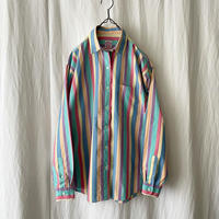 "80-90′s "" BROOKS BROTHERS "" Cotton Pastel Striped Shirts"