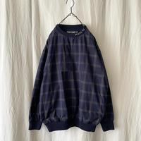 """90′s """" POLO GOLF """" Cotton Shell Check Pullover"""