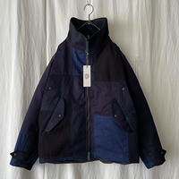 """ FUNSET OF ART "" Indigo Patch 袴 Deck Jacket"