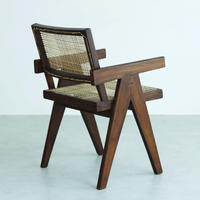 PIERRE JEANNERET ピエール・ジャンヌレ OFFICE CANE CHAIR 1955~56 ORIGINAL VINTAGE (No.C36)