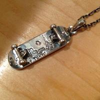 NIACオリジナルsk8ネックレス silver