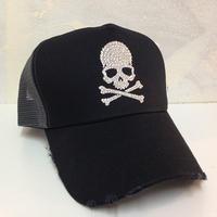 NIAC original basic skull ダメージメッシュCAP