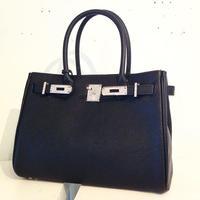 スワロカスタム2WAYレザーバッグ 1(30cm)(ライトグレージュ・ブラック・ホワイト・ネイビー)