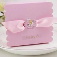 新品送料込 ギフトボックス 50個セットリボン付 くまさん&木馬 バレンタイン お誕生日会 結婚式 ラッピング プレゼント