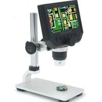 電子デジタルビデオ顕微鏡 ポータブルLEDの拡大鏡 600 X 4.3メガピクセル LCDディスプレイ携帯電話のメンテナンス