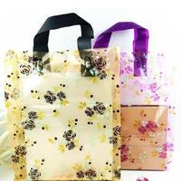 新品送料込 ギフトバッグ 手提げ袋 25枚セット 花柄 薔薇 25×35cm バレンタイン お誕生日会 ラッピング プレゼント
