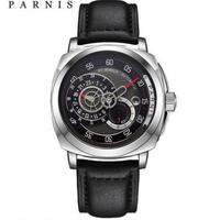 Parnis 44mm 自動巻き 機械式腕時計 メンズ 日本ミヨタ製ムーブ搭載 サファイアクリスタル 4色展開