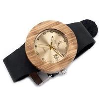 BOBO BIRD Luxury 木製腕時計 クォーツ 木の温もり 自然に優しい天然木 スタイリッシュ 本革バンド レディース時計