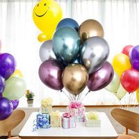 デコレーション風船 12インチ 50枚セット アルミカラー 飾り 誕生日 イベント パーティ ふうせん バルーン ヘリウム