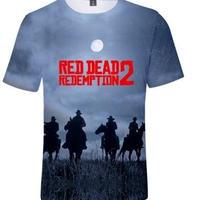 レッド・デッド・リデンプション 2 デザイン Tシャツ  ユニセックス ゲームグッズ RED DEAD REDEMPTION 2