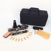 B♭キー クラリネット 木管 本体 ニッケルメッキ ケース 手袋 ソプラノ 吹奏楽
