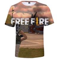 フリーファイア 3Dデザイン Tシャツ  ユニセックス ゲームグッズ Free Fire