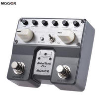 MOOER ShimVerb デジタル エフェクト ギター ペダル フットスイッチ エフェクター リバーブ