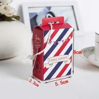 新品送料込 ギフトボックス 20個セット ロンドン風 タグ付 バレンタイン お誕生日会 結婚式 ラッピング プレゼント