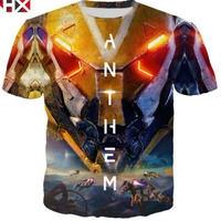 アンセム デザイン Tシャツ  ユニセックス ゲームグッズANTHEM