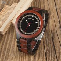【BOBO BIRD】2色展開 木製腕時計 クォーツ式 木の温もり 自然に優しい天然木 スタイリッシュデザイン アンティーク好きに
