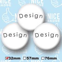 32mm :3個set  同デザイン -送料込み価格-