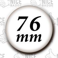 76mmサイズ 1個~