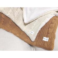 NC  knit blanket