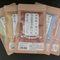 津和野で育った冬虫夏草で作った養生茶。5種セット