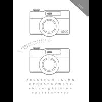 プラ板データ アイコンシリーズ(カメラ)