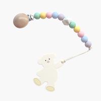 ギフトセット【テディベア歯固め × レインボーホルダー】