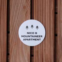 SHOP LOGO Sticker Circle vol.2  6×6