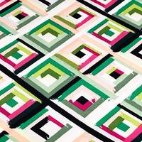 Colorful Diagonal ※15cm x 15cm