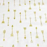 Golden Arrows/White   ※15cm x 15cm