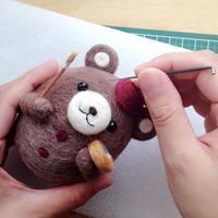 羊毛フェルト準備BOOK【基本動画10本付き】