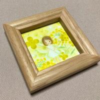 ミニ額『妖精/菜の花』