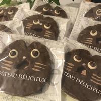 東北みやげコンテスト入賞!<冬季限定商品>チョコネコラスク5枚セット(サービス箱)