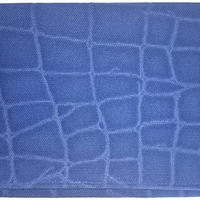 018NA-LWM-A御朱印帳袋(御朱印帳約18.5cmx12.5cm) 帆布生地 クロコダイル ネービー