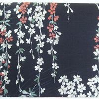 056BL-GWM-D 和柄調 しだれ桜 (御朱印帳約16cmx11.5cm対応)