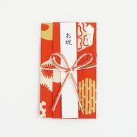 注染はんかち祝儀袋|寿文様〔花結び〕