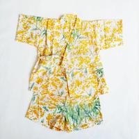 甚平|tenugui bouquet ミモザ〔L/110㎝ 〕