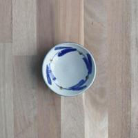 7010002 【漂窯】3.5寸皿 線引唐草