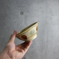 【北窯 松田米司工房】三彩点打 4.5寸マカイ②