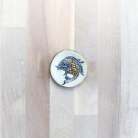 【陶眞窯】魚紋 豆皿