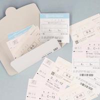 キロクのチケット/シネコン チケット風カードセット