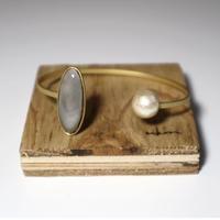 七宝  bracelet _ gray