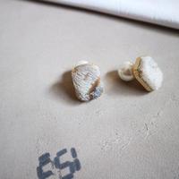 cubic ハラコ pierce/earring