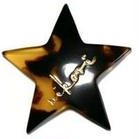 星 _ brown pierce / earring