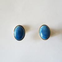 七宝ellipse_  blue pierce / earring