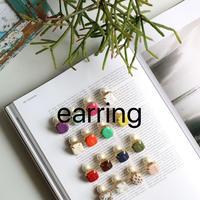 cubic earring 572E