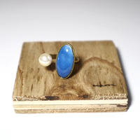 七宝 ring _ turquoise