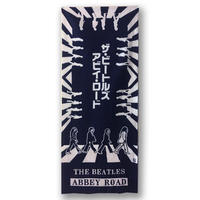 THE BEATLES オフィシャル /  ABBEY ROAD 江戸注染手拭い